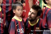 Video: Gerard Pique lohdutti hellyyttävästi nuorta poikaa