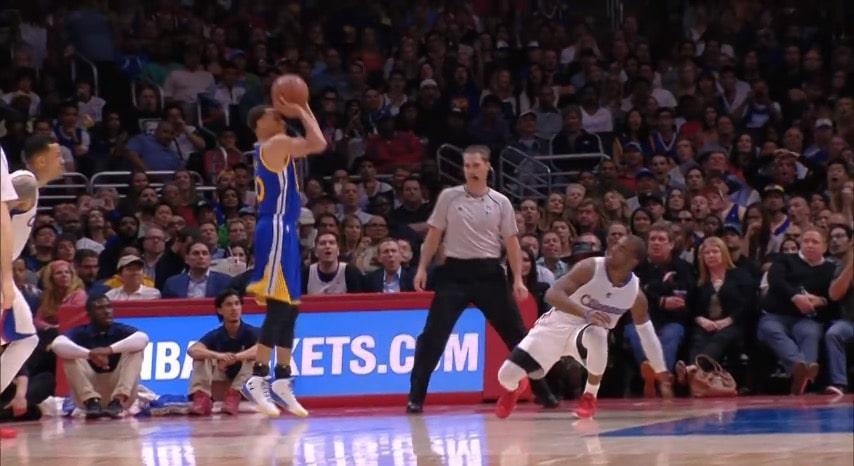 Video: Steph Curry laittoi Chris Paulin parketin pintaan