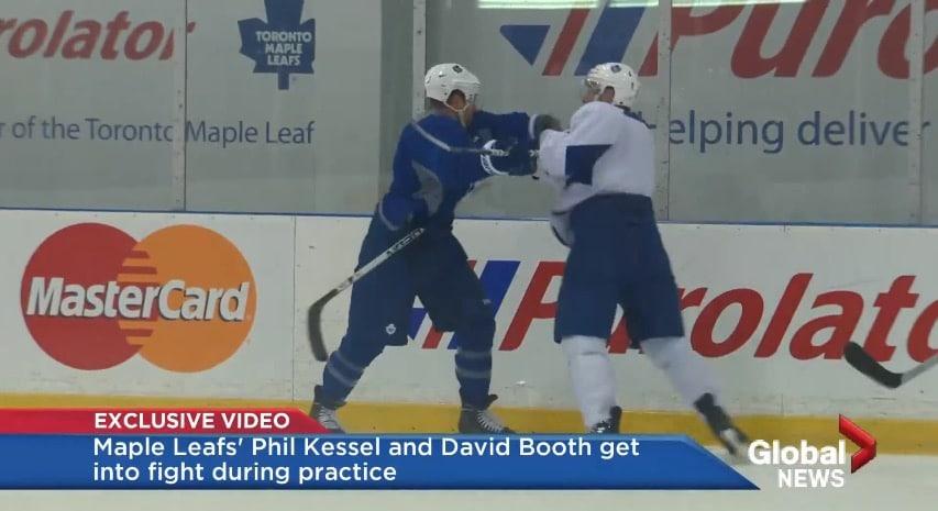Video: Joukkuhenkeä Toronto Maple Leafsin tavoin - myllyt treeneissä