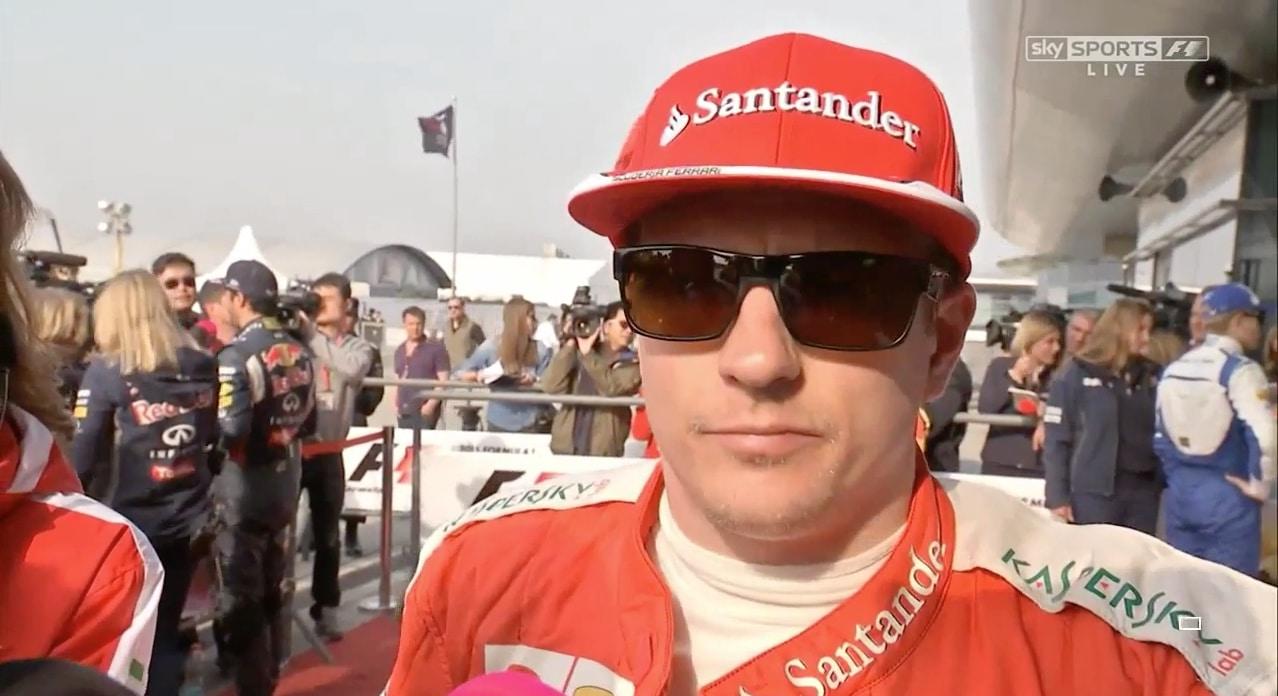 Ferrari Ferrarin pääjohtaja Kimi Räikkönen Ferrari Formula / Pallomeri.net