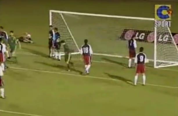 Klassikkovideo: Jalkapallomaaottelu Australia VS. Samoa 31-0