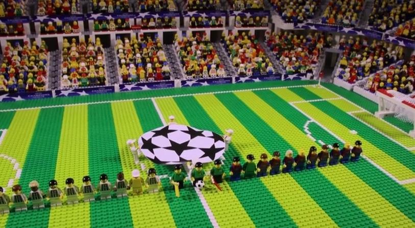 Video: Mestarien liigan finaali legoina