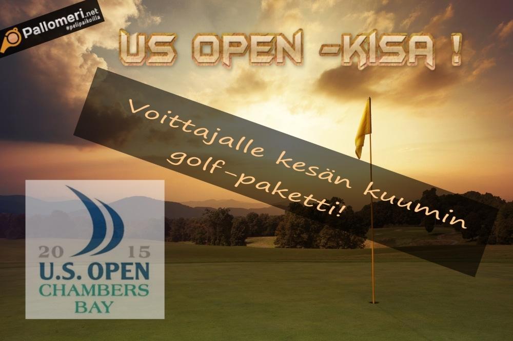US Open -kisa - voittajalle kesän kuumin golf-paketti!