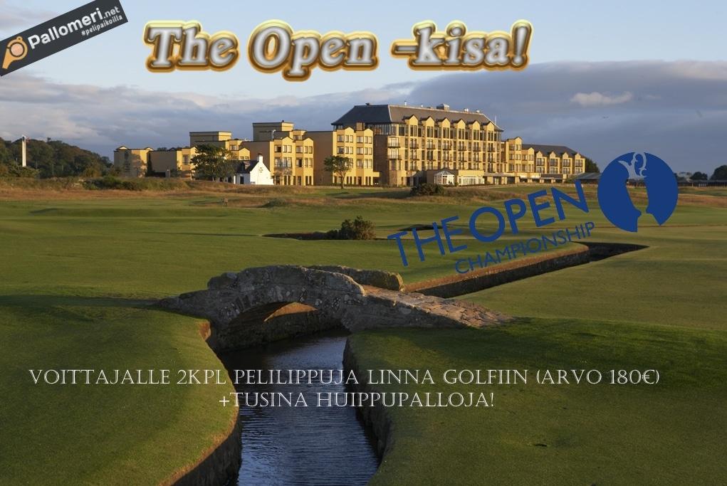 The Open kisa! - voittajalle peliliput Linna Golfiin + tusina huippupalloja