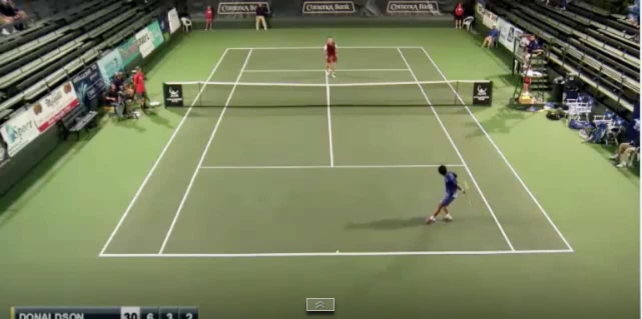 tennis amazing shot japani Pallomeri.net