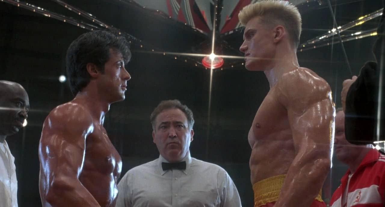 Uskomaton ottelu! Rocky Balboa kaatoi Ivan Dragon todellisessa jännärissä