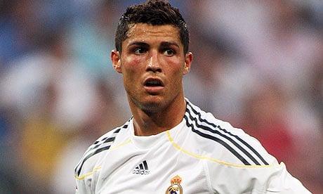 cristiano ronaldo jalkapallo Real Madrid / Pallomeri.net