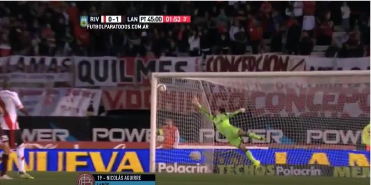 Aguirre Argentiina Lanus jalkapallo / Pallomeri.net