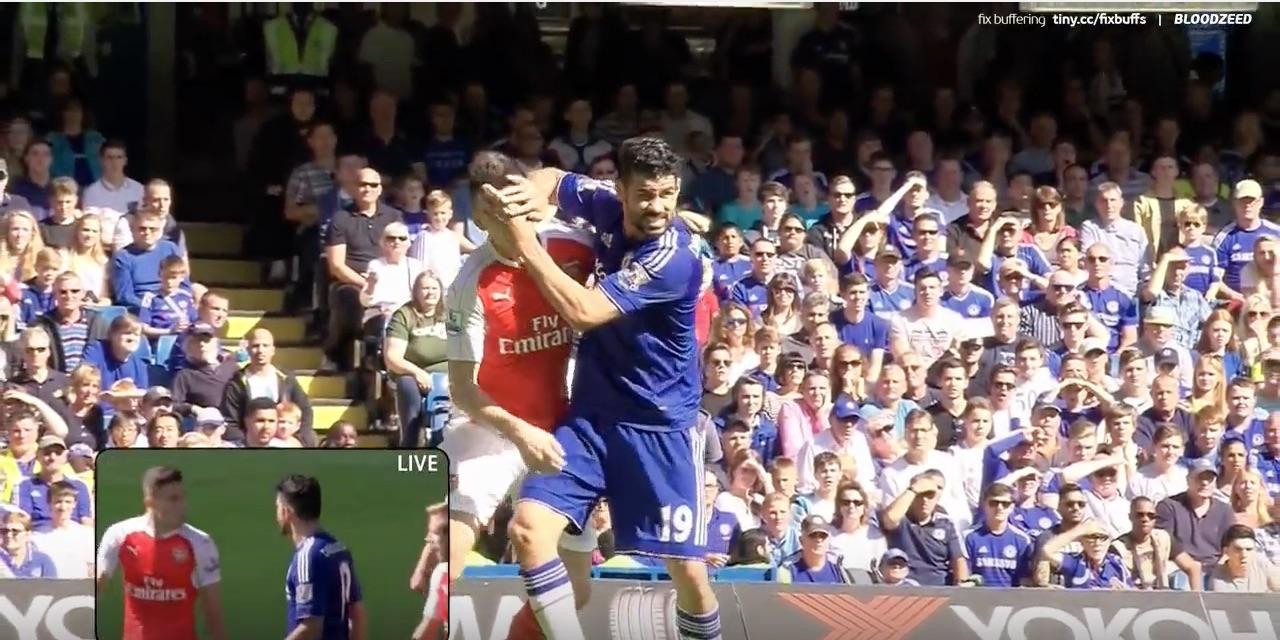 Chelsea jalkapallo Diego Costa / Pallomeri.net