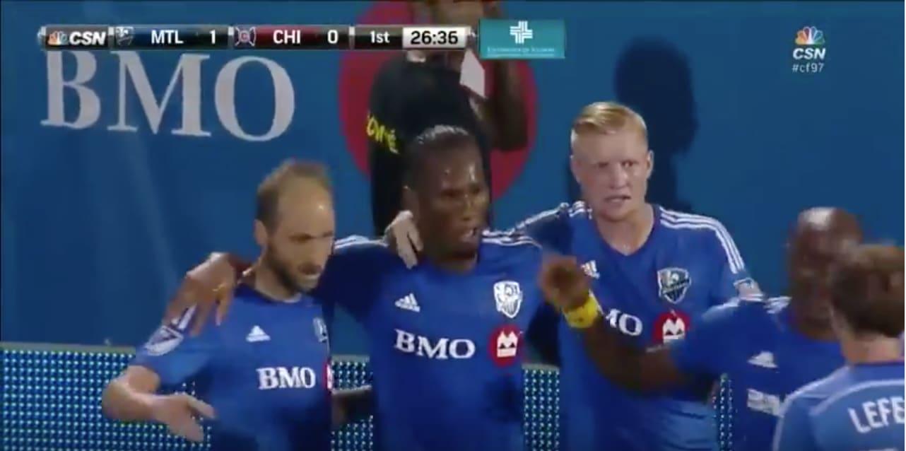Didier Drogba jalkapallo Montreal / Pallomeri.net