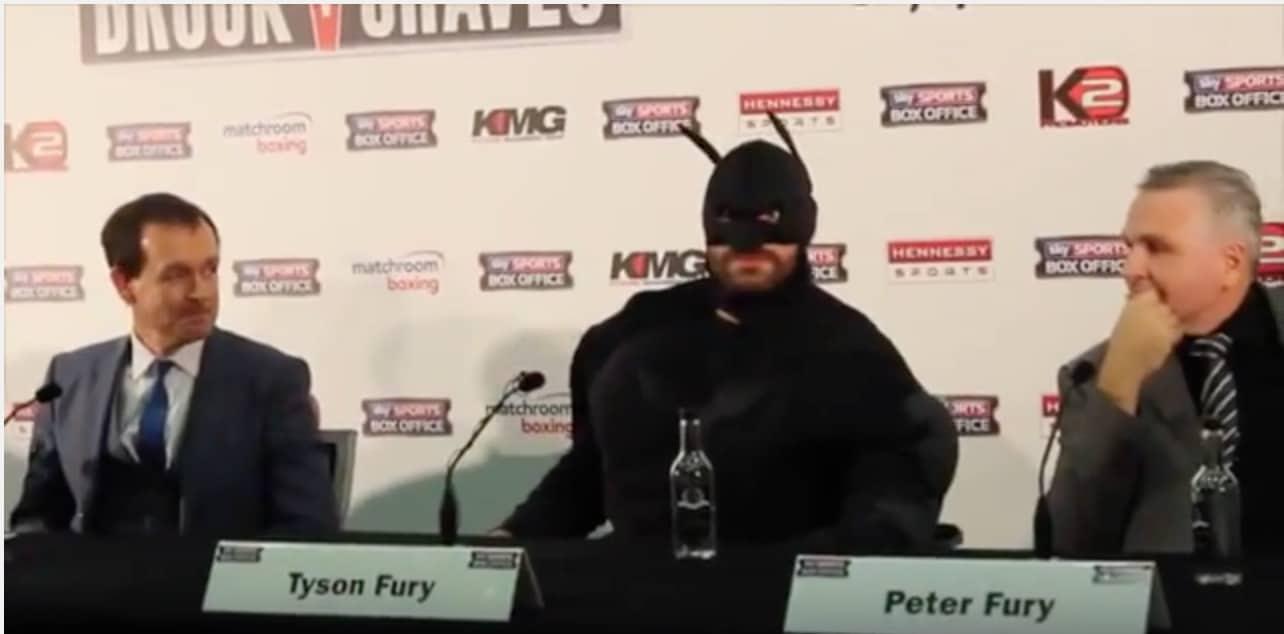 Fury nyrkkeily Klitschko / Pallomeri.net