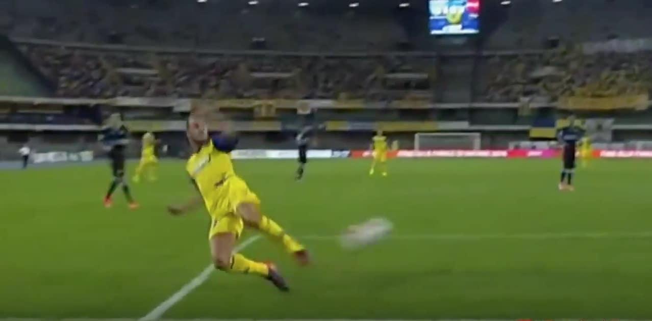 Meggiorini Chievo jalkapallo Serie A / Pallomeri.net