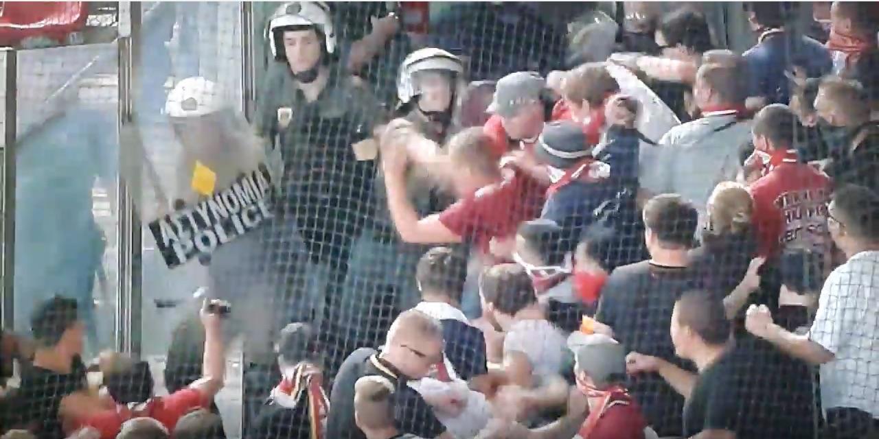 fanit Bayern jalkapallo poliisit / Pallomeri.net