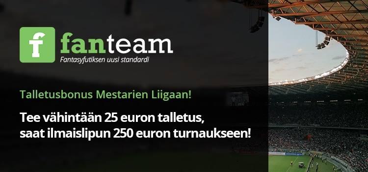 fantasyfutis mestarien liiga | Pallomeri.net