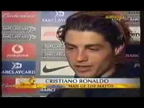 ronaldo ensimmäinen haastattelu englanniksi |Pallomeri.net