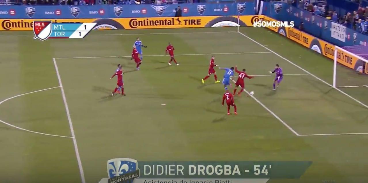 Didier Drogba Montreal jalkapallo / Pallomeri.net