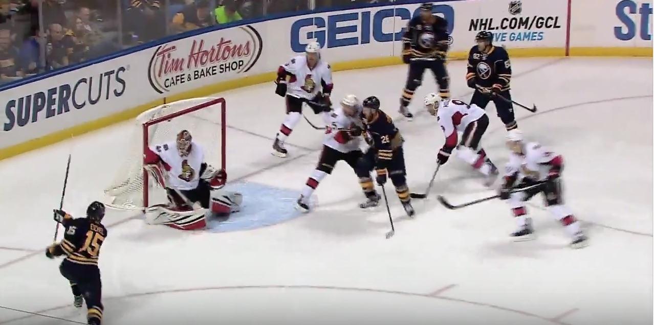 Jack Eichel NHL Buffalo jääkiekko / Pallomeri.net