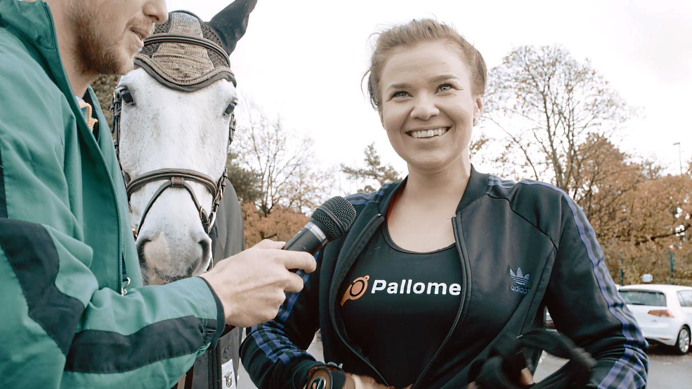 Pallomeri-TV: Kun hevonen ottaa roolia haastattelussa!
