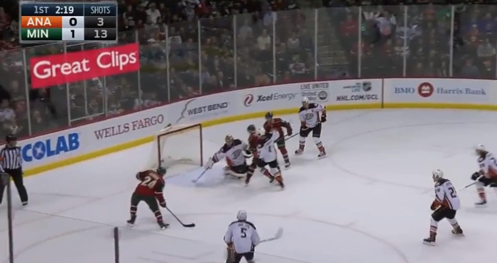 NHL Frederik Andersen Anaheim / Pallomeri.net