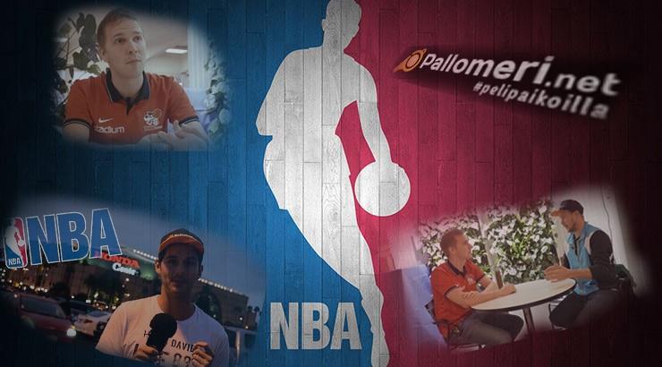 Pallomeri-TV NBA Kristian Palotie koripallo koris Pallomeri.net