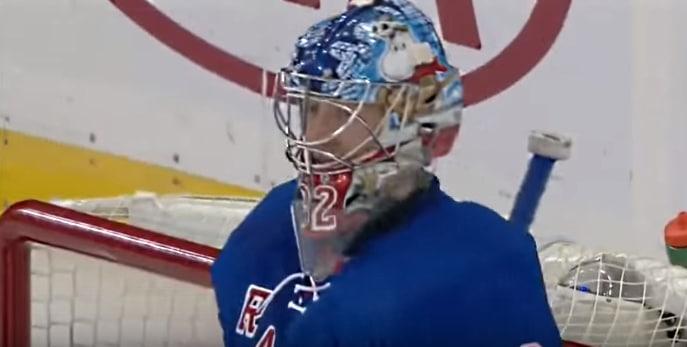 Antti Raanta aloitti täydellisesti Rangersissa – nollapeli ja ykköstähti!