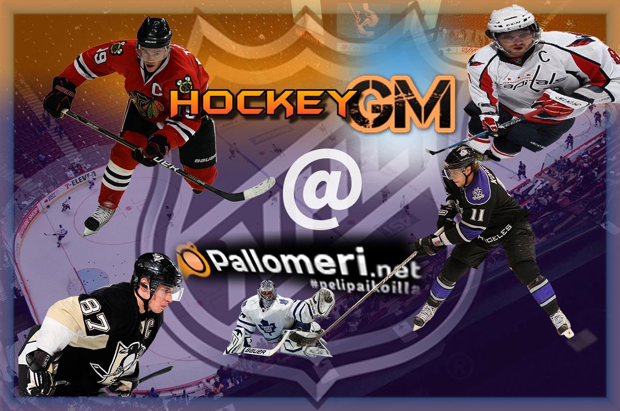 HockeyGM jääkiekko NHL | Pallomeri.net