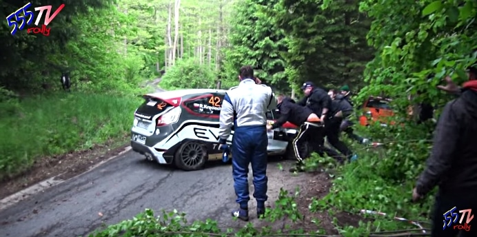 ralli puola wrc rallimutka rally crash
