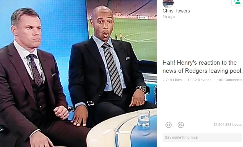 thierry henry valioliiga rodgers reaction pallomeri.net