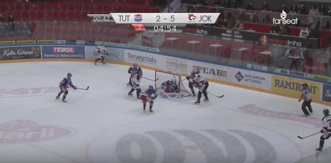 Jokipoikien Janne Väyrynen Mestis / Pallomeri.net