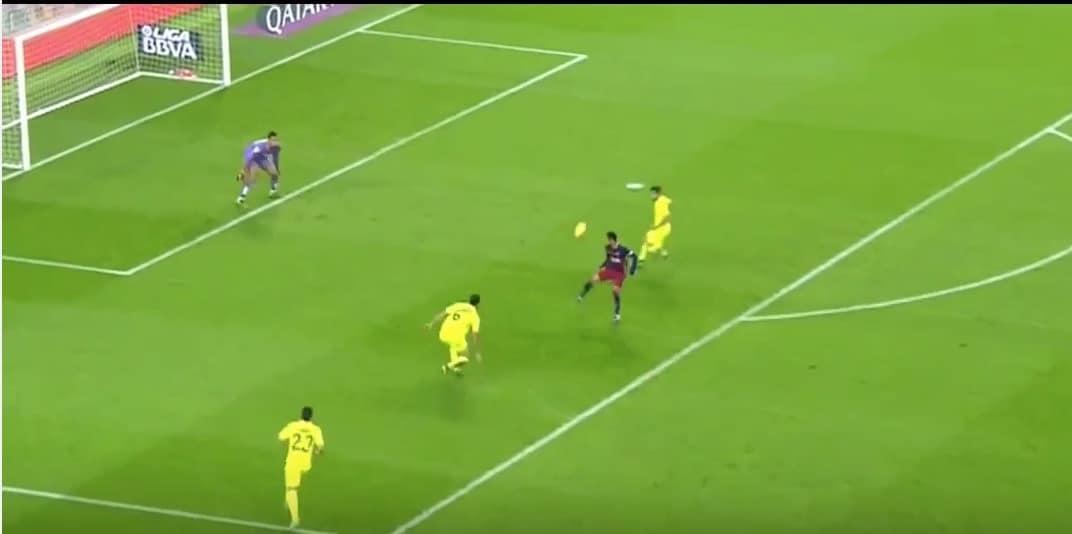 Video: Neymar nosti pallon upeasti puolustajan yli ja pamautti maaliin