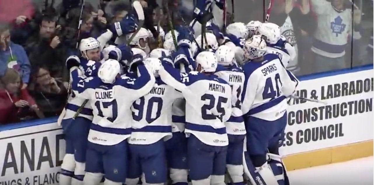 William Nylander AHL Toronto Marlies / Pallomeri.net