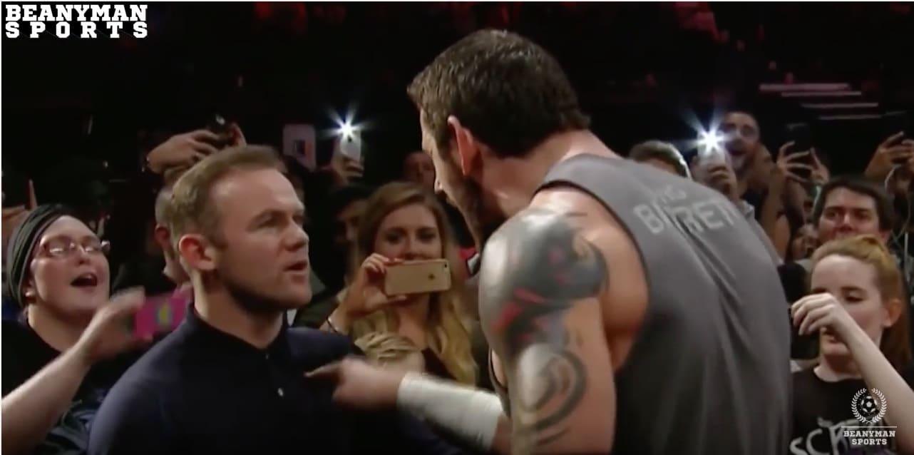 Wayne Rooney WWE paini / Pallomeri.net