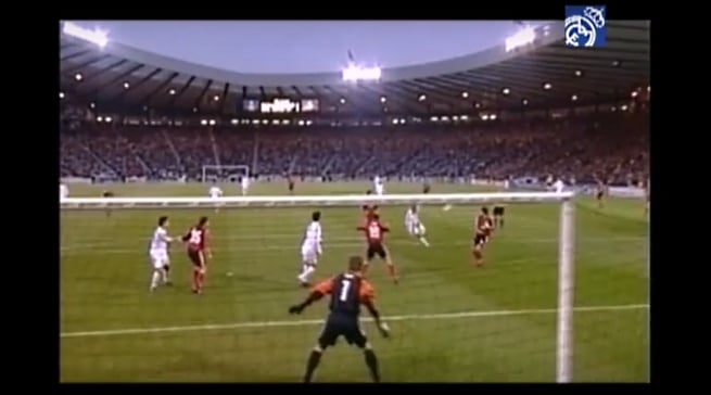zinedine zidane zidanen real madrid ucl leverkusen final legendary goal pallomeri.net
