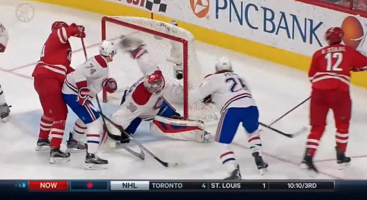 Mike Condon NHL Montreal / Pallomeri.net