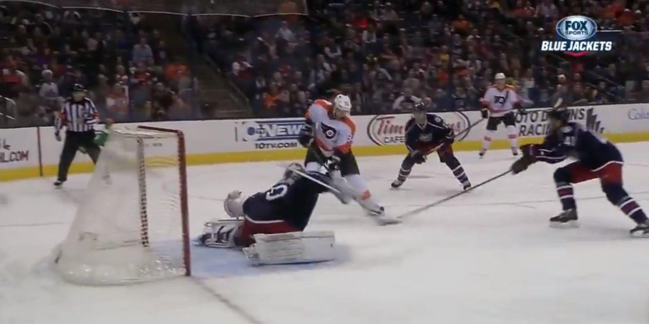 Joonas Korpisalo otti fantastisen torjunnan NHL:ssä