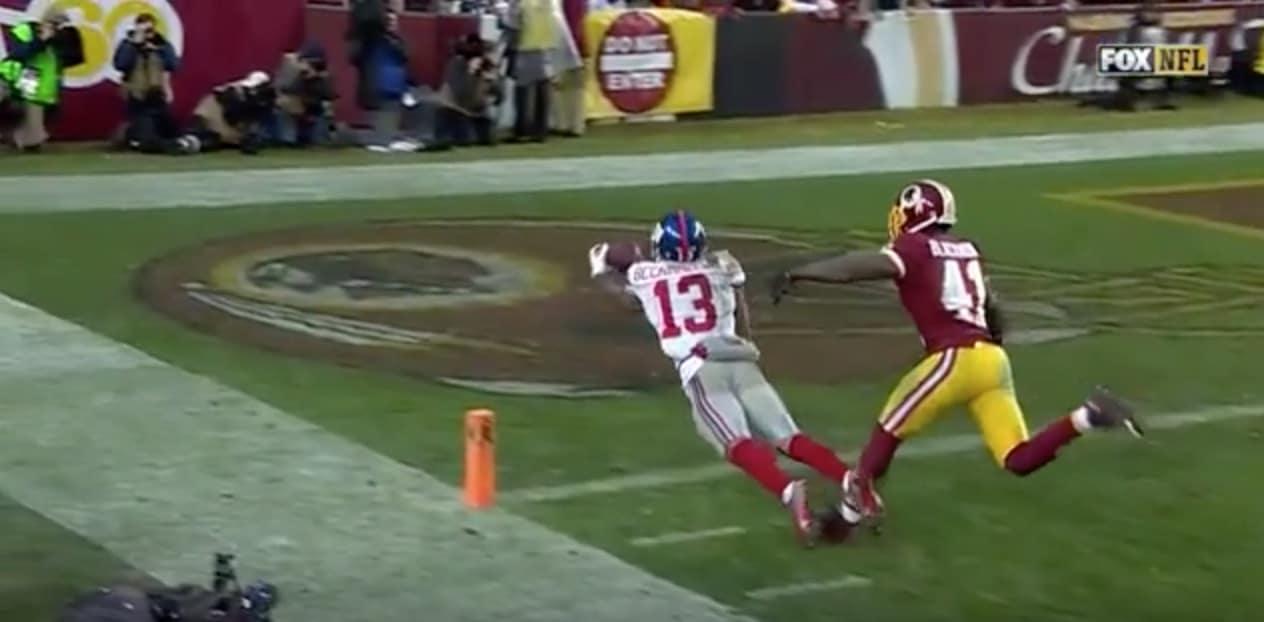 Video: NFL:ssä nähtiin yksi kauden huikeimmista kopeista
