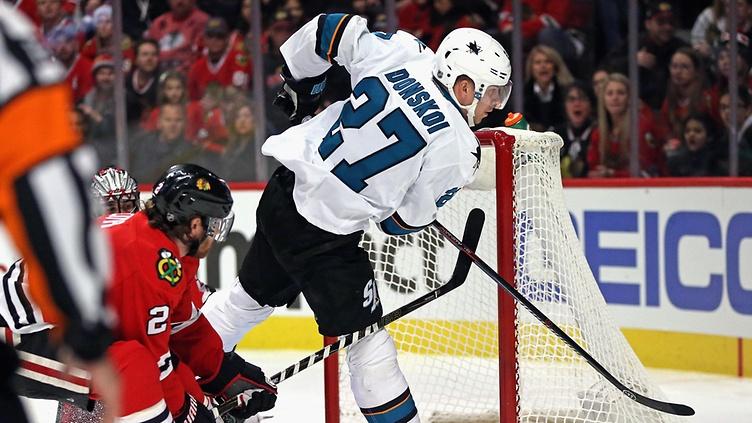 Donskoilta kylmänviileä läpiajomaali yön NHL-kierroksella