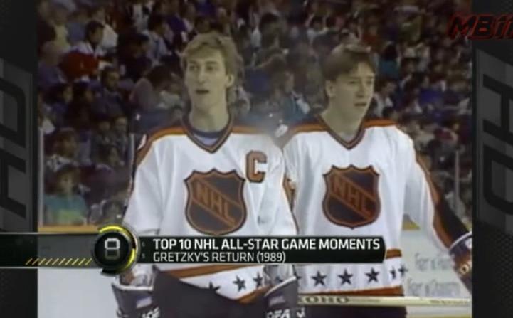 Video: Top-10 NHL All Star -hetket - legendojen tähdittämä koostepätkä