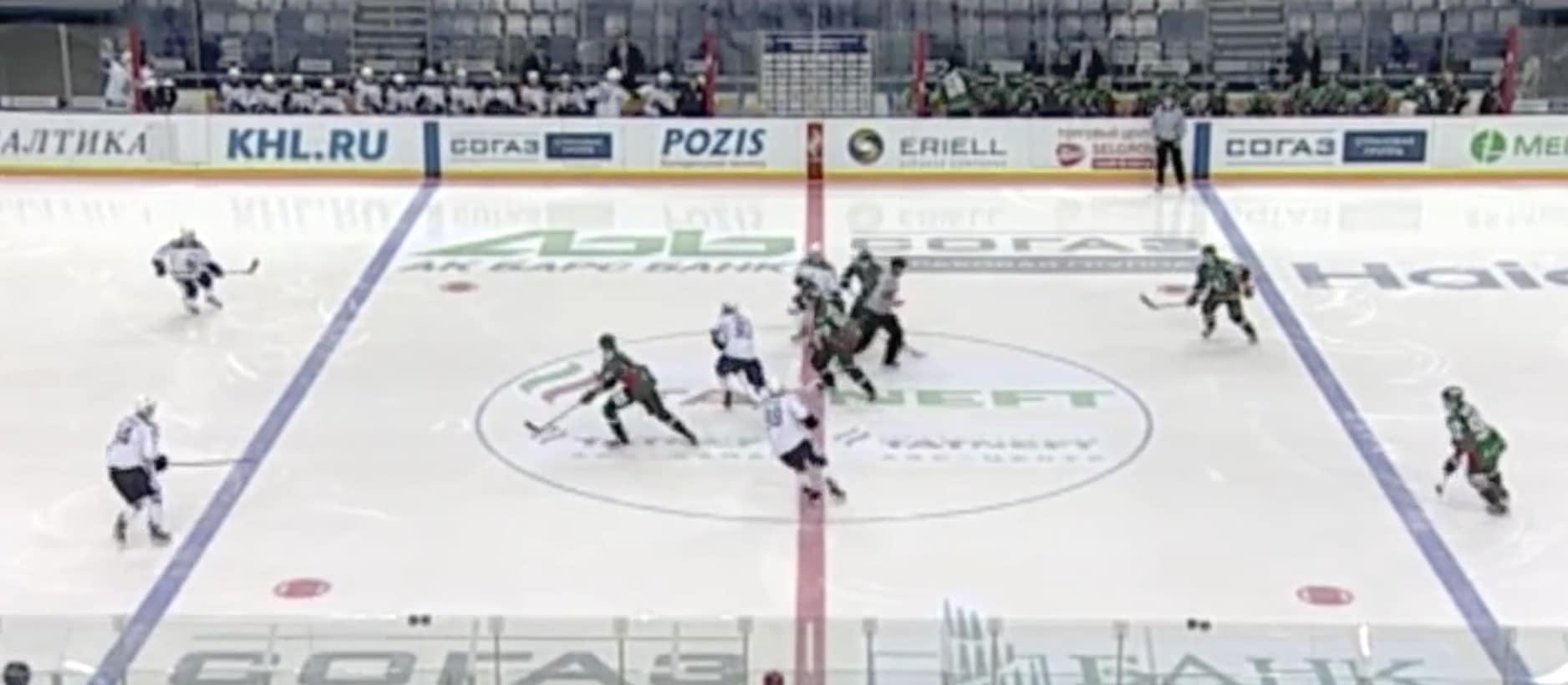 Video: Venäläishyökkääjä teki jääkiekkohistorian nopeimman maalin – aikaa meni ainoastaan kolme sekuntia