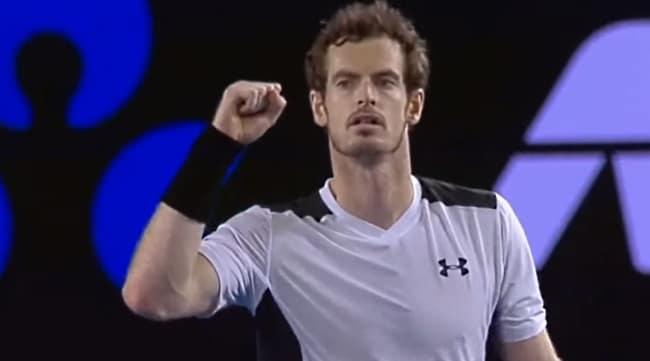 Video: Viisieräinen välierätaisto - Andy Murray punnersi Australian Open -finaaliin