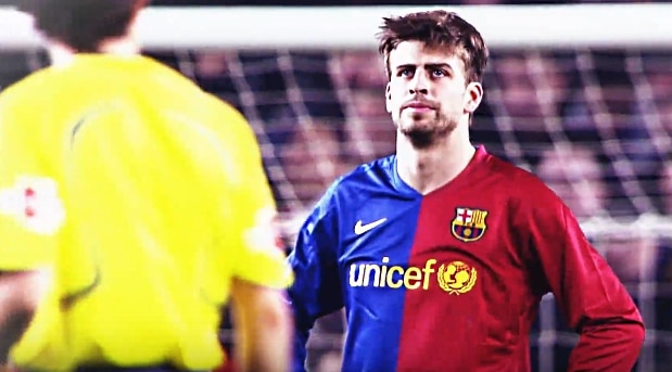 gerard pique Barcelonan Derby Pallomeri.net