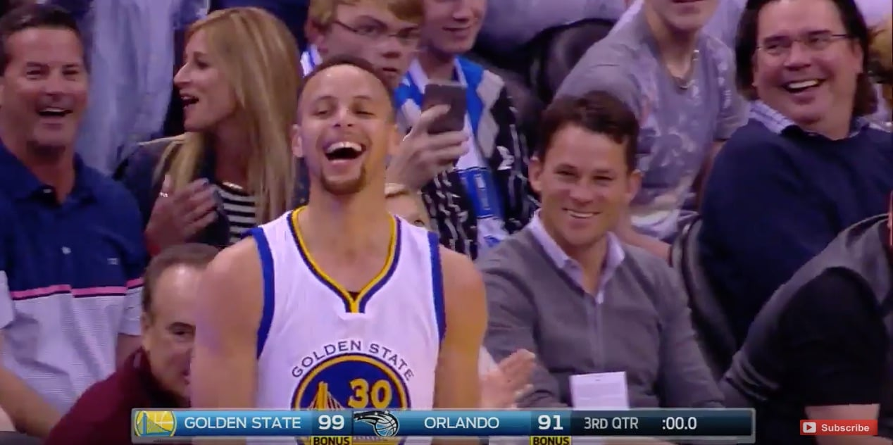 Stephen Curry Golden State Warriors NBA / Pallomeri.net