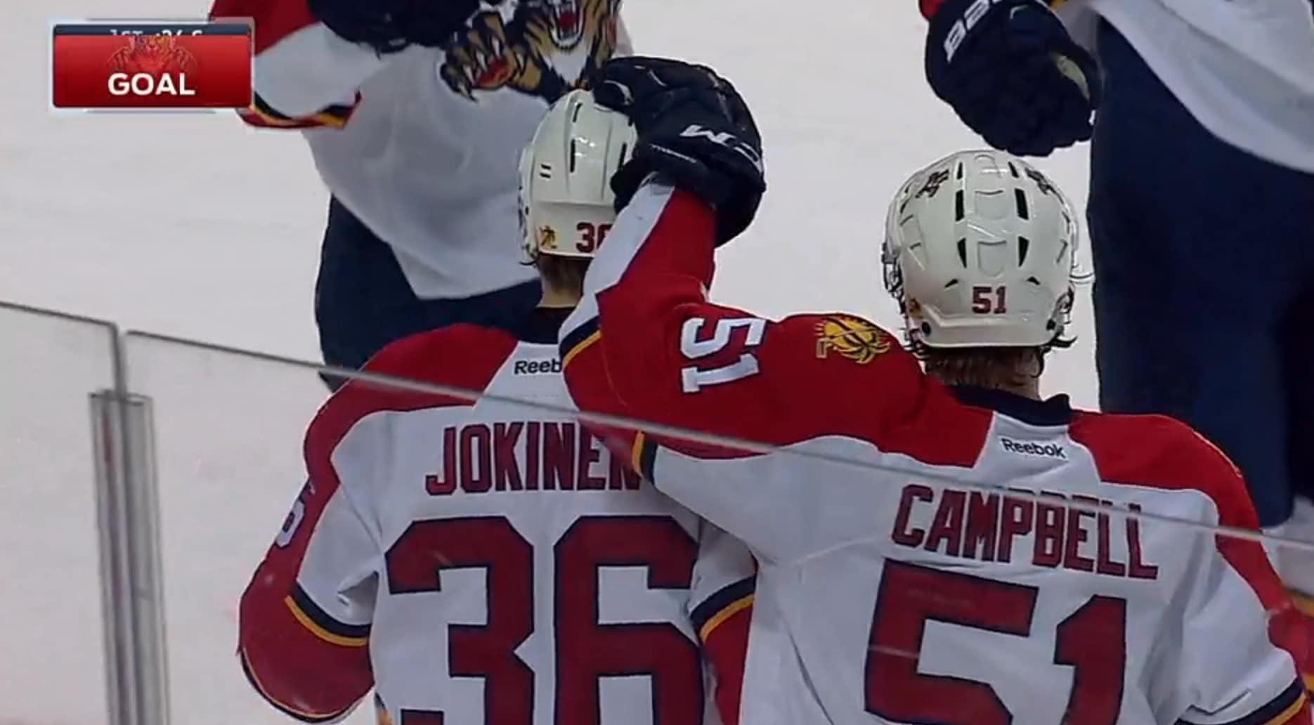 Jussi Jokinen NHL jääkiekko / Pallomeri.net