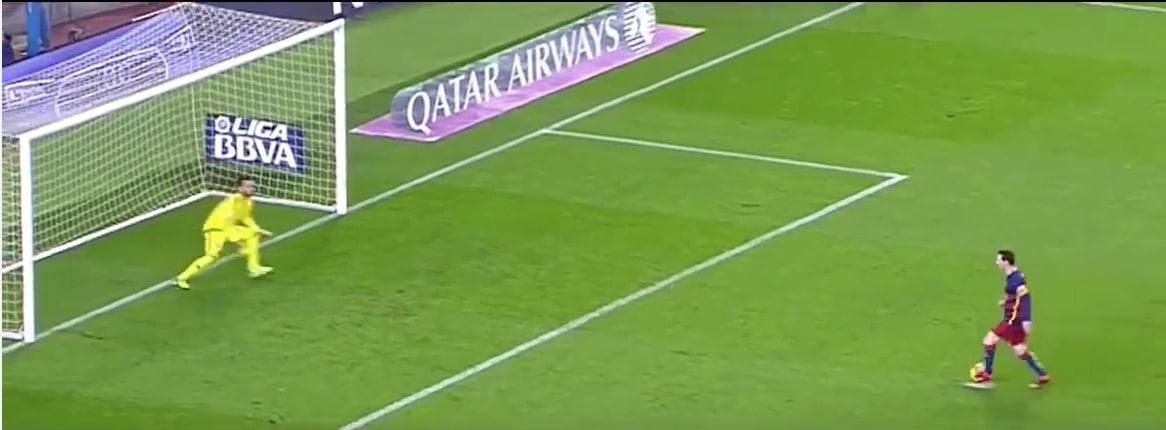 Lionel Messi La Liga Barcelona / Pallomeri.net