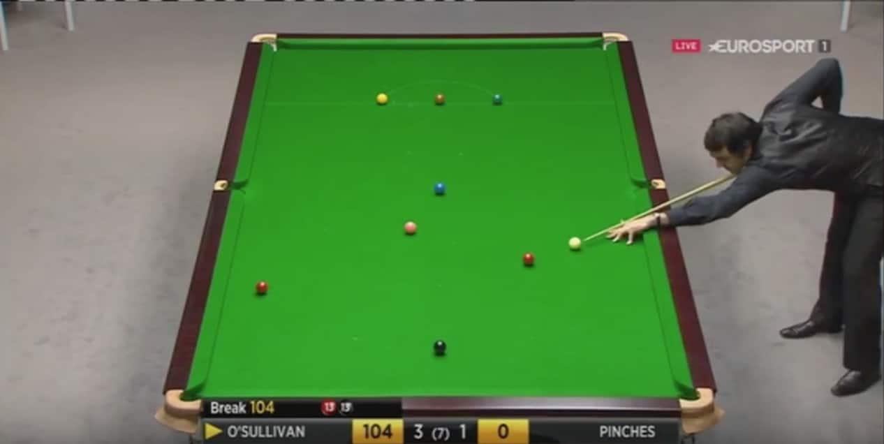 Ronnie O´Sullivan snooker Welsh Open / Pallomeri.net