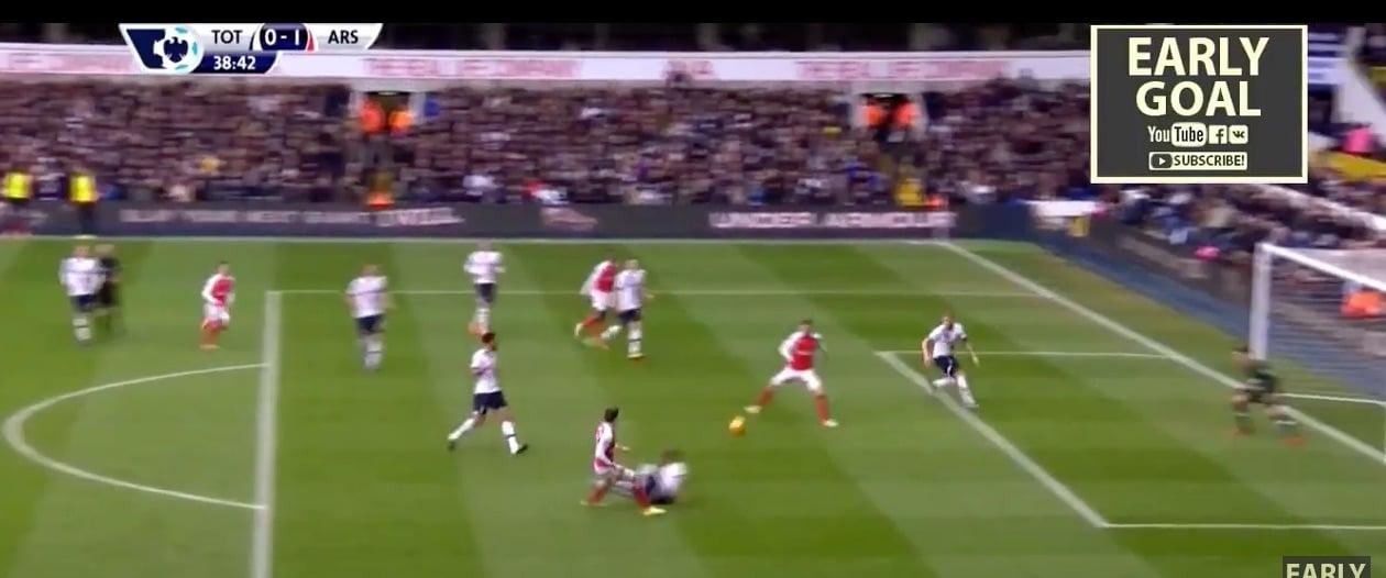 Arsenal Aaron Ramsey Valioliiga / Pallomeri.net