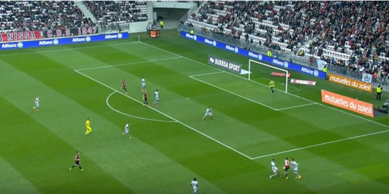 Hatem Ben Arfa Ligue 1 Nice / Pallomeri.net