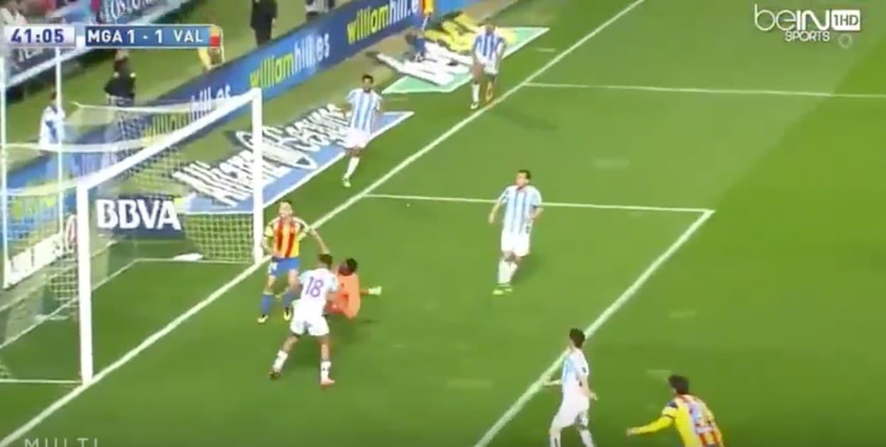 Carlos Kamen Malaga La Liga / Pallomeri.net