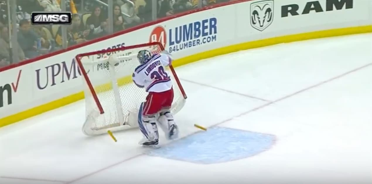 Henrik Lundqvist NHL New York Rangers / Pallomeri.net