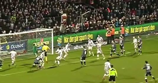 lisäajalla Tanska jalkapallo Steffen Rasmussen / Pallomeri.net